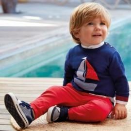 Mayoral 1324-63 Sweter dla chłopca kolor granat