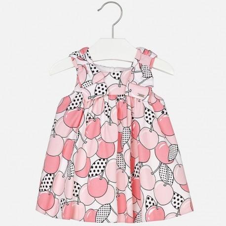 Mayoral 1932-74 Sukienka dla dziewczynki kolor róż