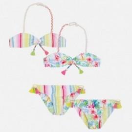 Mayoral 6718-4 Bikini dziewczęce dwustronne kolor Fuksja