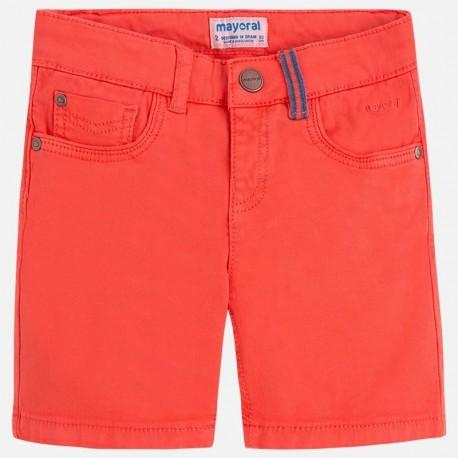 Mayoral 3244-93 Bermudy chłopięce kolor czerwony