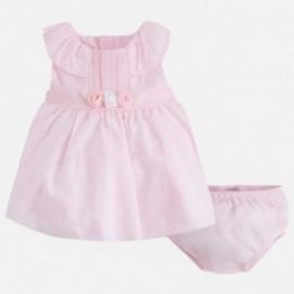 Mayoral 1822-49 Sukienka dla dziewczynki kolor róż
