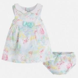 Mayoral 1846-25 Sukienka dla dziewczynki kolor biały
