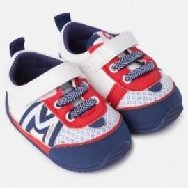 Mayoral 9751-94 buciki adidasy dla chłopca kolor czerwony