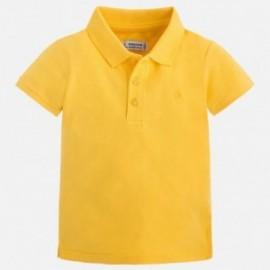 Mayoral 150-38 Koszulka polo chłopięca kolor żółty