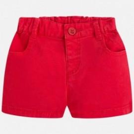 Mayoral 201-70 Spodnie krótkie dla chłopca kolor czerwony
