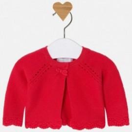 Mayoral 325-25 Sweter dziewczęcy kolor czerwony