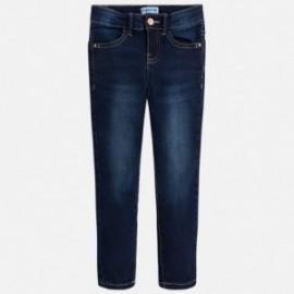 Mayoral 75-69 Spodnie dziewczęce jeans kolor granat