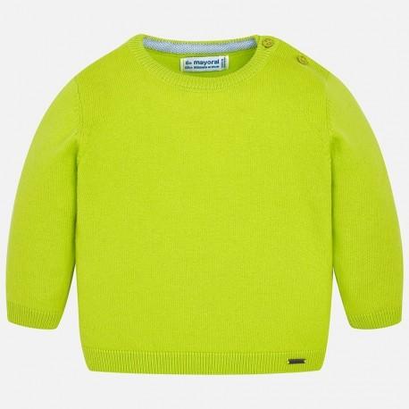 Mayoral 303-84 Sweter chłopięcy kolor zielony