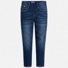 Mayoral 548-82 Spodnie dziewczęce jeans kolor granat