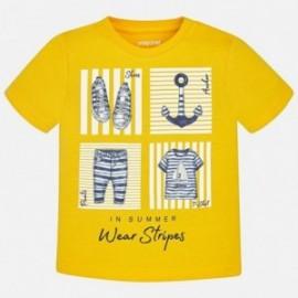 Mayoral 1046-81 Koszulka chłopięca kolor żółty