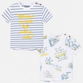 Mayoral 1052-94 koszulki chłopięce kolor Niebieski