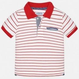 Mayoral 1134-45 Koszulka chłopięca polo kolor czerwony
