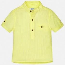 Mayoral 1156-39 Koszula chłopięca na stójce kolor żółty