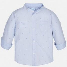 Mayoral 1166-55 Koszula chłopięca kolor niebieski