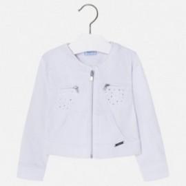 Mayoral 3414-52 Kurtka bluza dziewczęca kolor biały