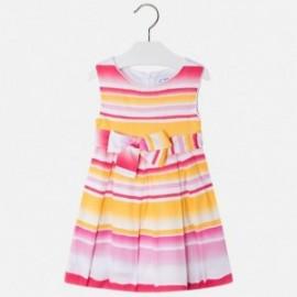 Mayoral 3950-48 Sukienka dziewczęca kolor fuksja