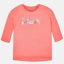 Mayoral 6060-75 Bluzka dziewczęca kolor koral