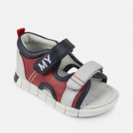 Mayoral 41906-24 Sandały chłopięce kolor czerwony
