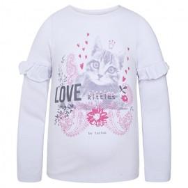 Tuc Tuc 39659-5 bluzka dziewczęca kolor biały