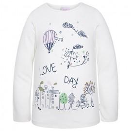 Tuc Tuc 39714-65 bluzka dziewczęca kolor biały