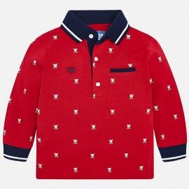 Mayoral 2108-97 Koszulka polo chłopięca kolor czerwony