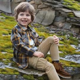 Mayoral 4136-20 Koszula chłopięca z podszewką kolor miód