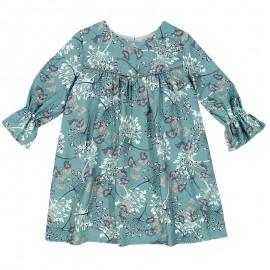 MINIMI sukienka dla dziewczynki 43/18 kolor turkus