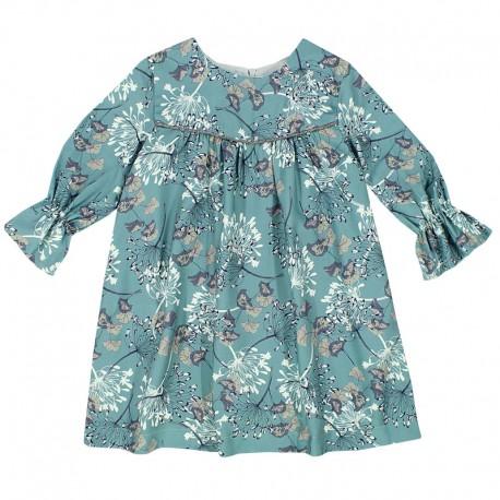 3882bbcfb8fcfa MINIMI sukienka dla dziewczynki 43/18 kolor turkus