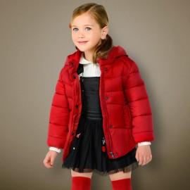 Mayoral 415-76 Kurtka dziewczęca kolor czerwony