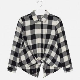 Mayoral 7130-33 koszula dziewczęca kolor czarny