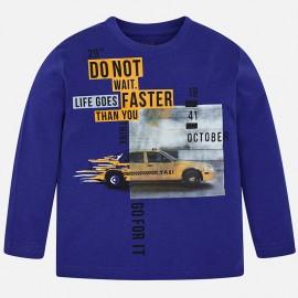 Mayoral 4018-64 Koszulka dla chłopaka kolor niebieski