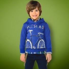 Mayoral 4434-72 Bluza chłopięca kolor niebieski