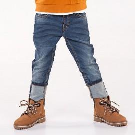 Mayoral 4506-20 Spodnie chłopięce jeans kolor niebieski