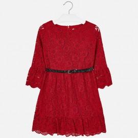 Mayoral 7930-89 Sukienka dziewczęca kolor czerwony