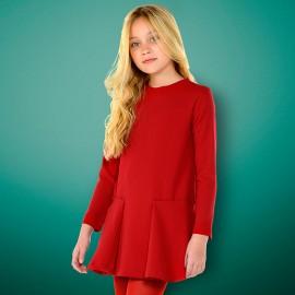Mayoral 7942-83 Sukienka dziewczęca kolor czerwony