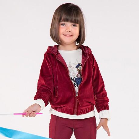 Mayoral 4423-17 Bluza dziewczęca kolor malina