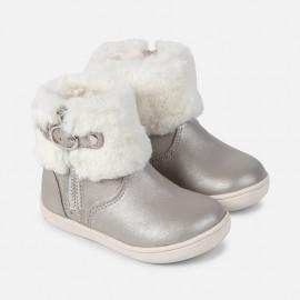 Mayoral 42832-40 Buty dziewczęce kolor srebrny