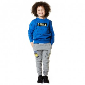 Losan spodnie chłopięce kolor szary 825-6035AC