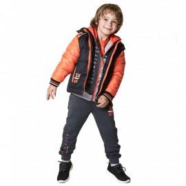 Losan spodnie chłopięce kolor szary 825-6029AC