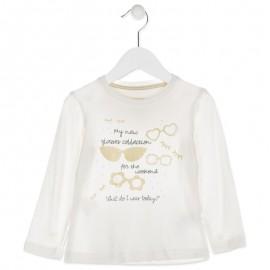 Losan koszulka dla dziewczyny kolor złoty 826-1004AD