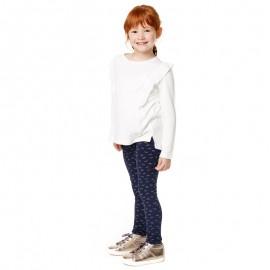 Losan legginsy dla dziewczyny kolor granat 826-6004AD
