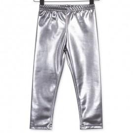 Losan legginsy dla dziewczyny kolor srebrny 826-6006AD