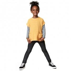 Losan legginsy dla dziewczyny kolor szary 826-6011AD