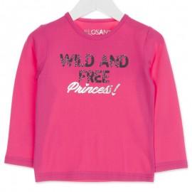 Losan bluzka dla dziewczyny kolor róż 826-1029AD