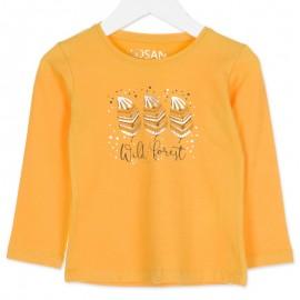 Losan bluzka dla dziewczyny kolor żółty 826-1015AD