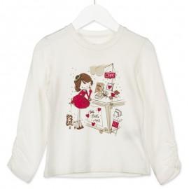 Losan bluzka dla dziewczyny kolor krem 826-1790AD