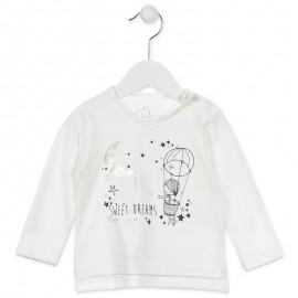 Losan bluzka dla dziewczyny kolor krem 828-1000AD