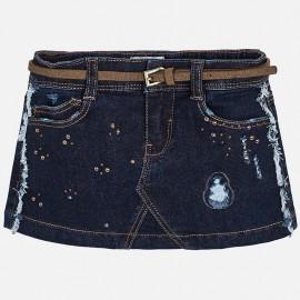 Mayoral 4910-85 Spódnica dziewczęca kolor Ciemny jeans