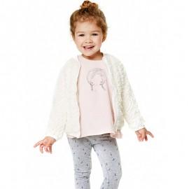 Losan legginsy dla dziewczynki kolor szary 828-6006AD