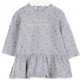 Losan sukienka dla dziewczynki kolor szary 828-7005AD